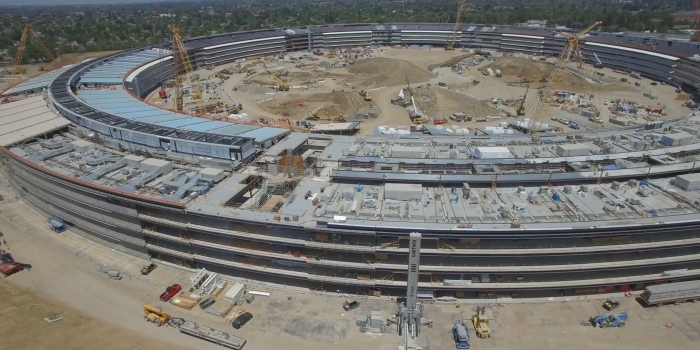Apple campus2 nerede