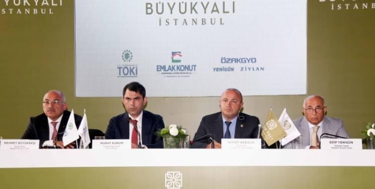 Büyükyalı İstanbul projesi basına tanıtıldı