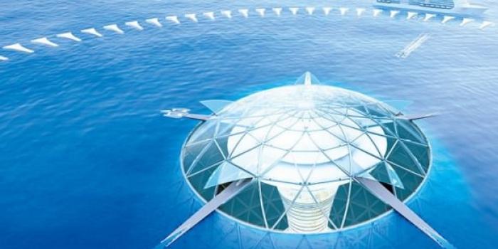 Denizin altına 500 metrelik kent inşa ediliyor