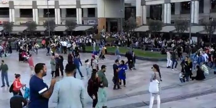 Forum İstanbul'da yanlış bomba alarmı