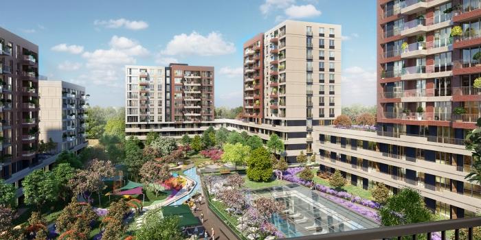 Sur Yapı Bahçeyaka Ispartakule fiyatları 225 bin TL'den başlıyor