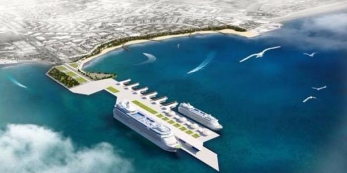 Kruvaziyer limanı projesi