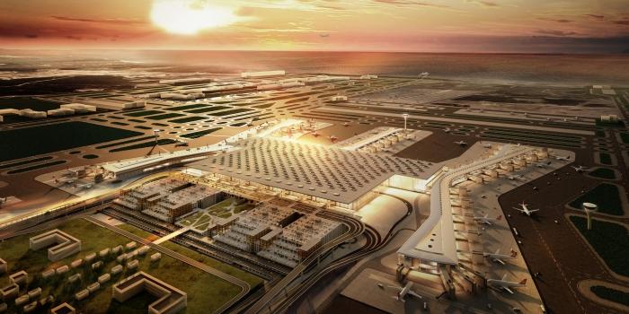 250 hava yolu şirketi 3. Havalimanını bekliyor