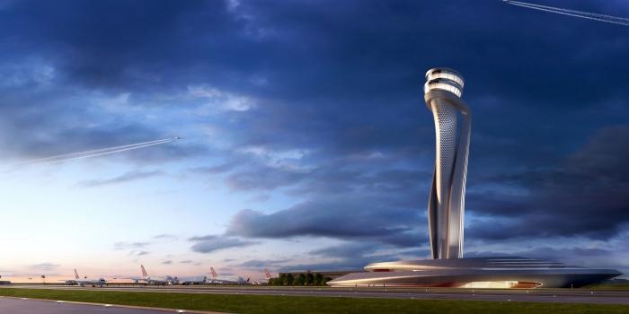 3. havalimanı kule tasarım