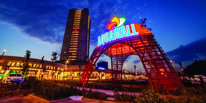 Aqua Mall'un açılışına özel konserler
