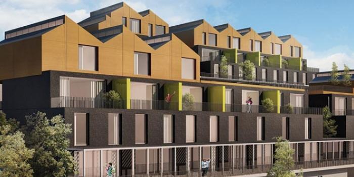Yeşil inşaat innovia terrace izmit projesi