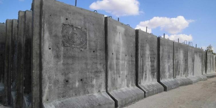 Terör duvarını TOKİ tamamlayacak