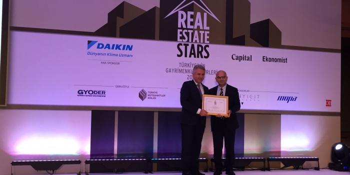 Soyak Yapı'ya Real Estate Stars'dan 2 Ödül