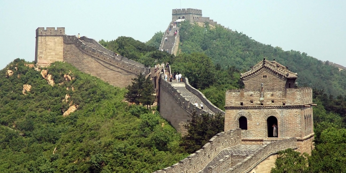 Çin Seddi'nin altına hızlı tren yapılacak