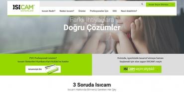 Isıcam Sistemleri'nin yeni web sitesi yayında