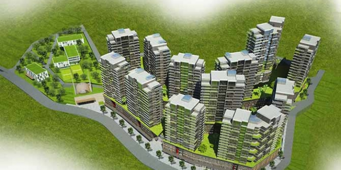 Türkiyenin master planı olan ilk kentsel dönüşüm projesi