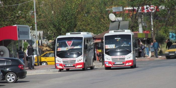 Antalyada midibüs ve dolmuş düzenlemesi