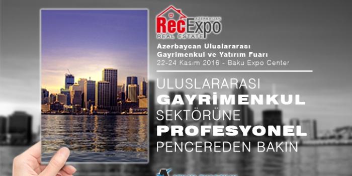 Sektör Azerbaycan Gayrimenkul Fuarı'nı bekliyor