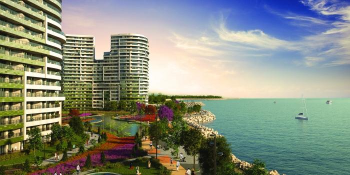 SeaPearl Ataköy'ün örnek daireleri hazır