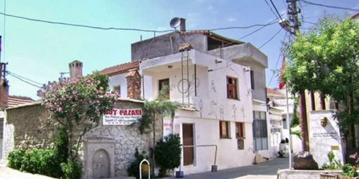 İzmir bademler köyü