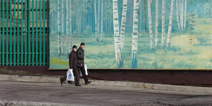 Barentsburg köyü
