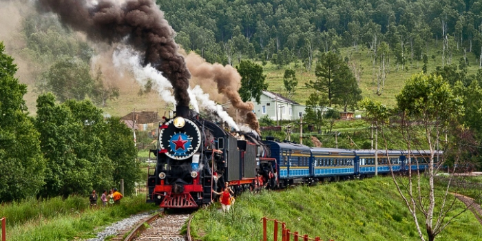 Trans sibirya demiryolu güzergahı
