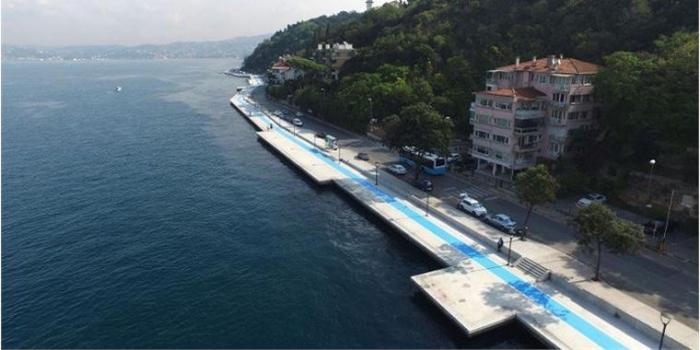 İstanbul'un yeni yürüyüş yolu