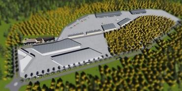 Finike modern bölge hal inşaatı devam ediyor