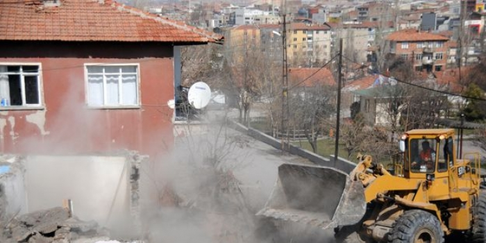Gaziantep Şahinbey'de kentsel dönüşüm başladı