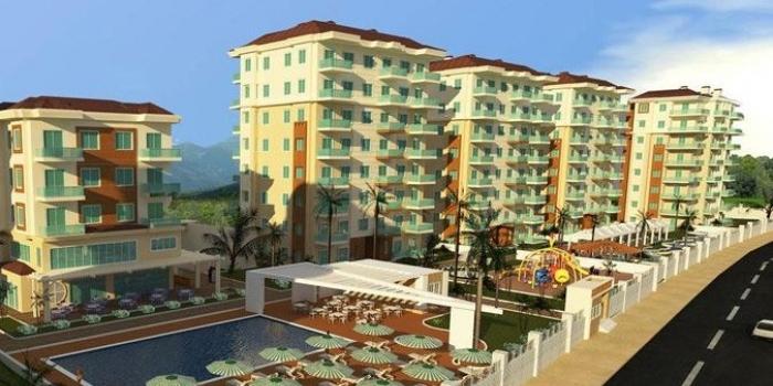 Alara Residence Alanya fiyatları 159 bin TL'den!