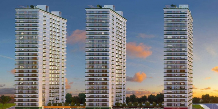 Mina Towers Fikirtepe'de metrekaresi 7 bin 400 TL'ye