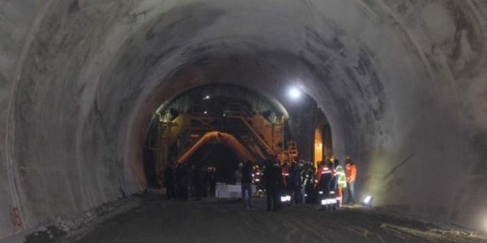 Ovit Tüneli'nde ışığın görülmesine 90 metre kaldı