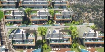 Tepe Modern Villaları Alanya!