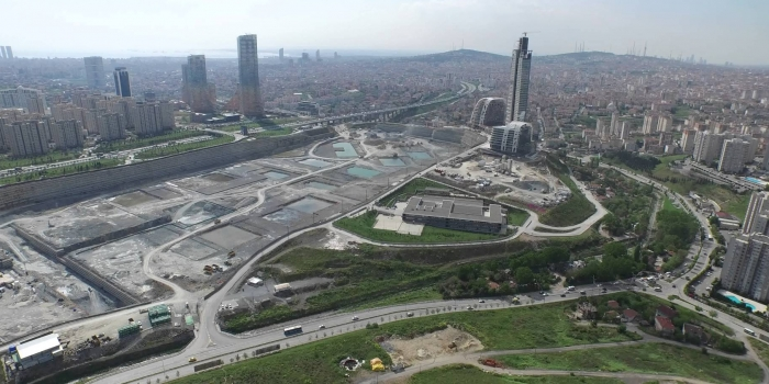 İFM'deki kamu binalarının temelleri atıldı