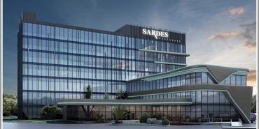 Doğadan esinlenilen hasta odaklı tasarım Sardes Hastanesi