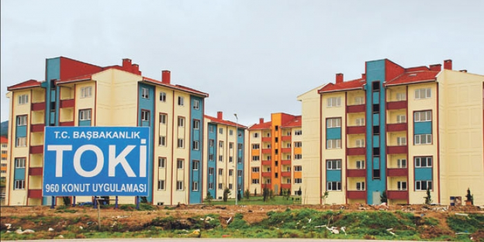 TOKİ İzmir'e 529 konutluk proje yapacak