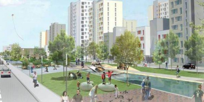 Altıağaç Karaağaç Hüseyingazi Kentsel Dönüşüm Projesinin 2. etabı ihaleye çıkıyor