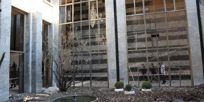 TBMM binasının onarımı sürüyor