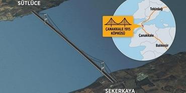 Çanakkale Köprüsü ihalesi 26 Ocak'ta gerçekleşecek