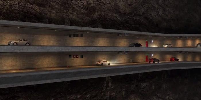 Üç katlı büyük istanbul tüneli