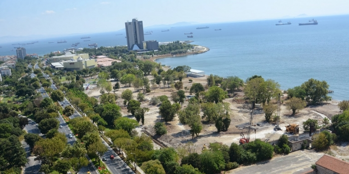 Mega Yat Limanı projesi durduruldu
