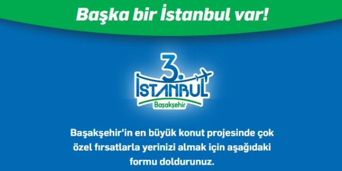 Üçüncü İstanbul Başakşehir 15 Kasım'da satışa çıkacak