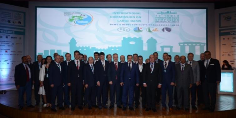 Dünya baraj ve HES sektörünün devleri Antalya'da buluştu