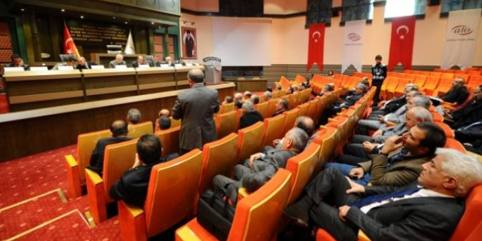Ankara Ticaret Odası'nda Gökçekli döneme doğru