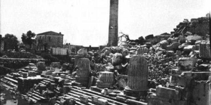Tarihi fotoğraflarla istanbulun yapıları