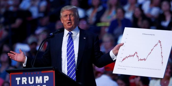 ABD'nin yeni başkanı Trump borç içinde yüzüyor