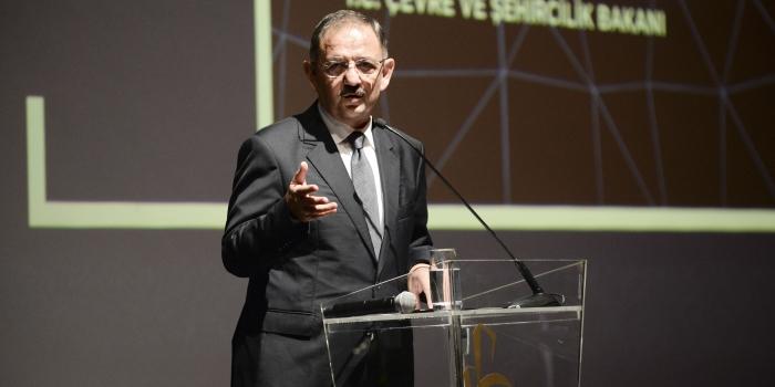 Bakan Özhaseki: Kentsel dönüşümde hedeflerin çok altındayız