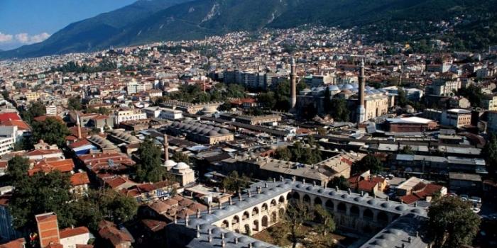 Bursa deprem haritası