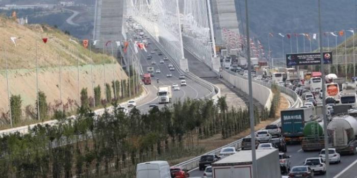 3. köprü trafiği