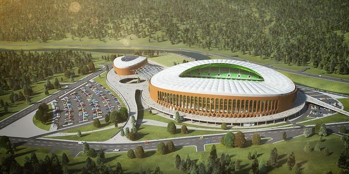 Giresun Çotanak Arena'yı Siyahkalem inşa edecek