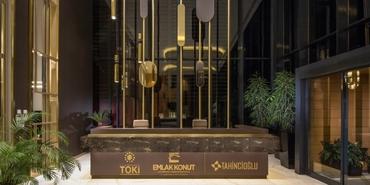 Nidapark Kayaşehir satış ofisine Gönye Proje Tasarım imzası