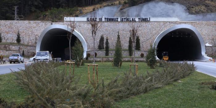 Ilgaz Dağı Tüneli yıl sonunda açılıyor