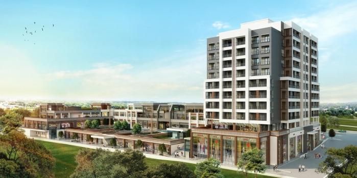 Tual Bahçekent Çarşı dükkanlarına 37 milyonluk teklif