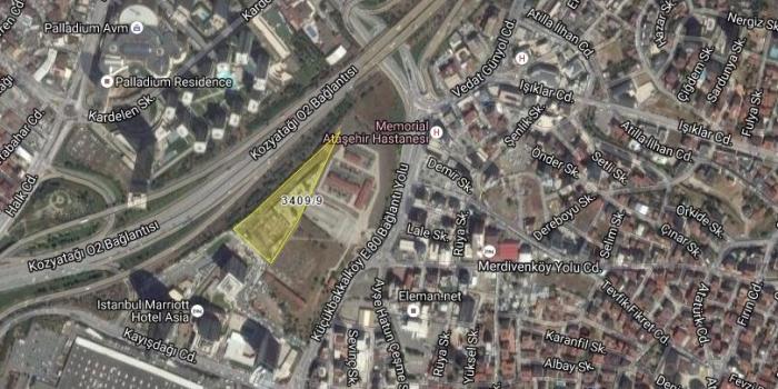Ataşehir Club Sporium arazisi satışa çıkıyor