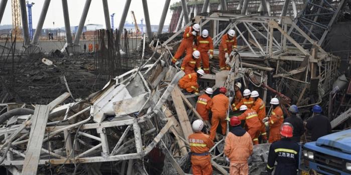 Çin'i sarsan inşaat kazası: En az 40 ölü